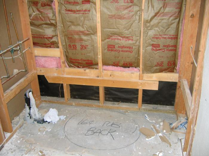 Alcove Tub Install (misc) | Terry Love Plumbing & Remodel DIY ...
