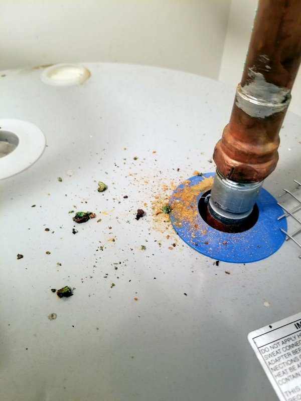 Cause Of This Corrosion To Expansion Tank Terry Love