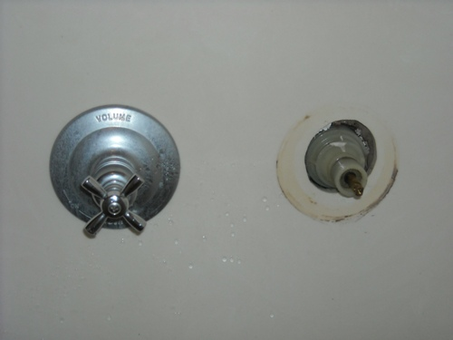 Delta shower temp control handle leaking | Terry Love Plumbing ...