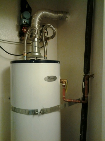 Water heater installation affecting condo central heating system ...