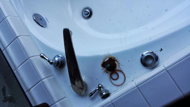 how to remove the stem from a bath tub faucet | Terry Love Plumbing ...