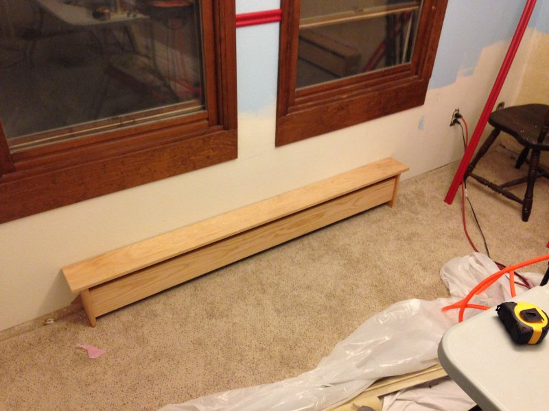 I Want To Build Wooden Baseboard Covers Drawbacks Are Metal