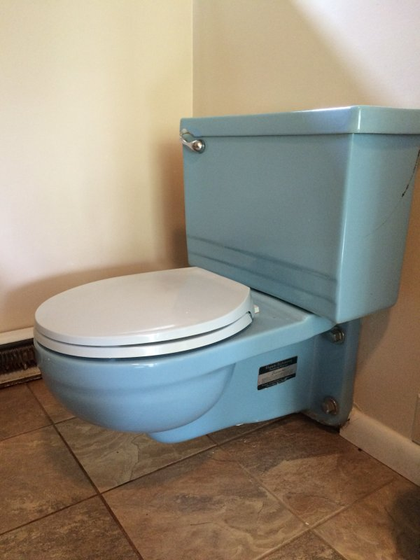 Replacing A Rheem Richmond 1960 Wall Mounted Toilet