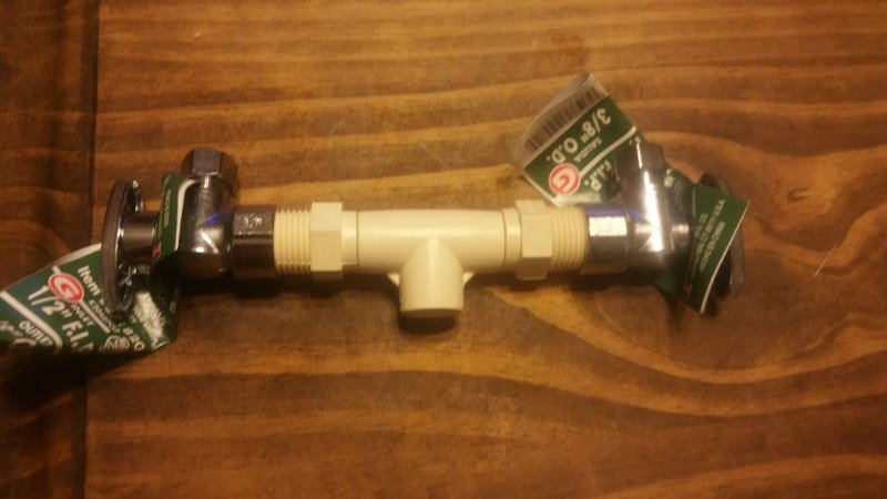 Valve For Pvc To Cpvc And Under Sink Shutoff Terry Love