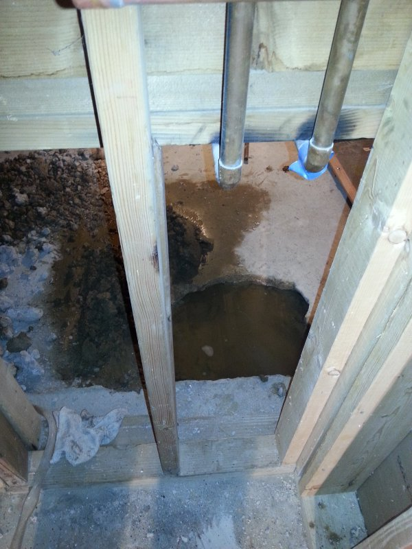 High Water Table Will Interior Perimeter Drain Tile Help