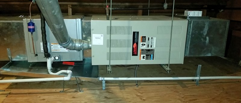 Dripping Sound From Attic Furnace  Ac