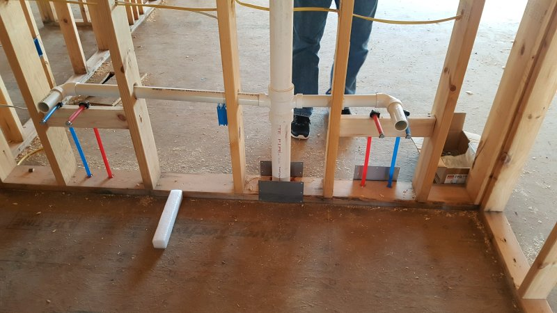 New home construction - failed plumbing rough inspection | Terry ...