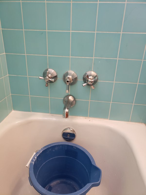 tub shower combo valve