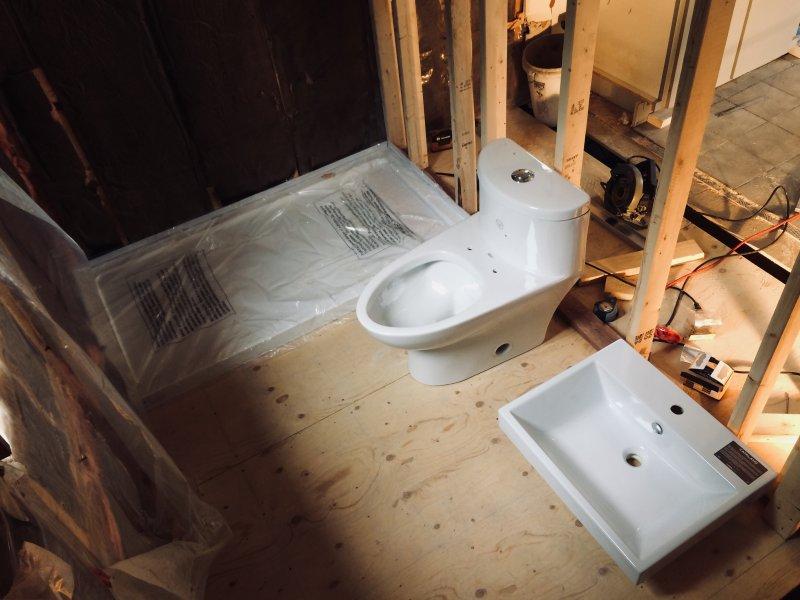Bathroom rough in : joist under wall | Terry Love Plumbing ...
