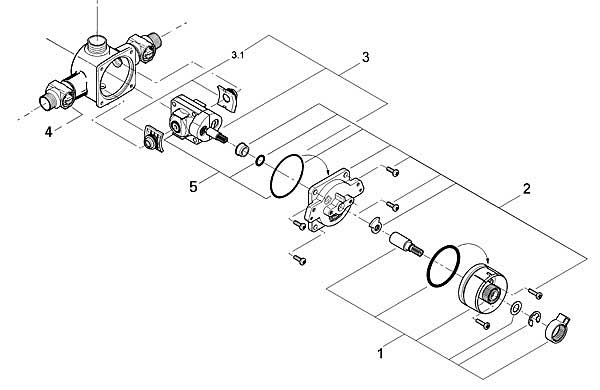 Mixet Shower Cartridge Replacement Engine Diagram And