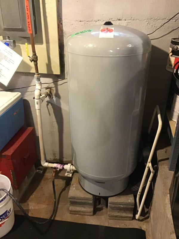 Well pressure tank as water heater expansion tank ? | Terry Love