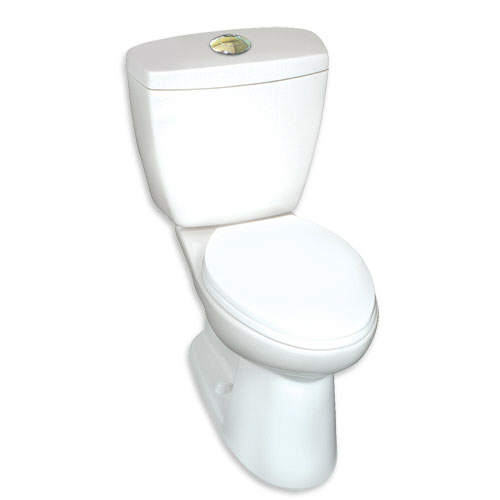 : Quality Craft Alexis High Efficiency Dual Flush Toilet in a Box