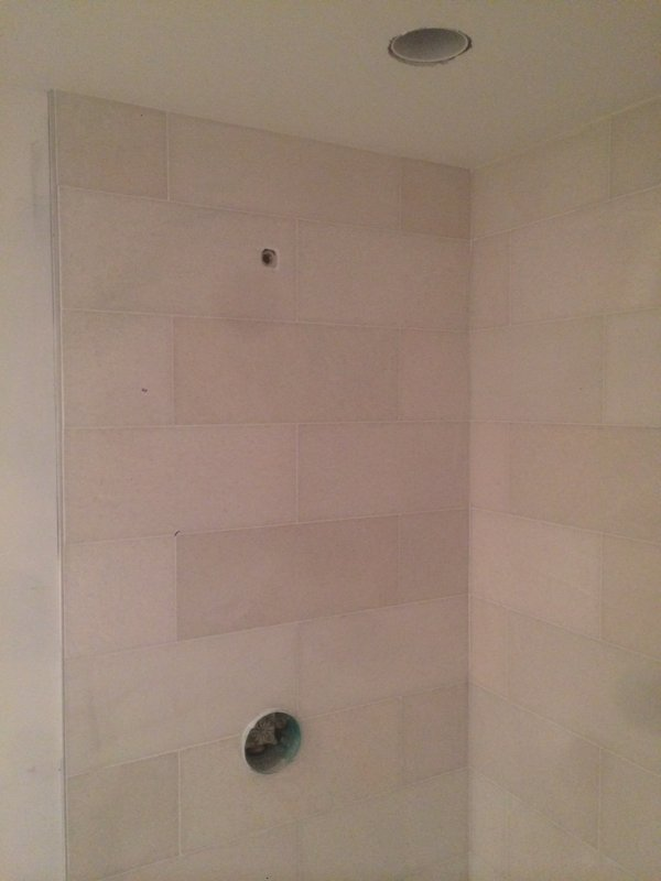 Is this shower and valve placement acceptable? | Terry Love Plumbing ...