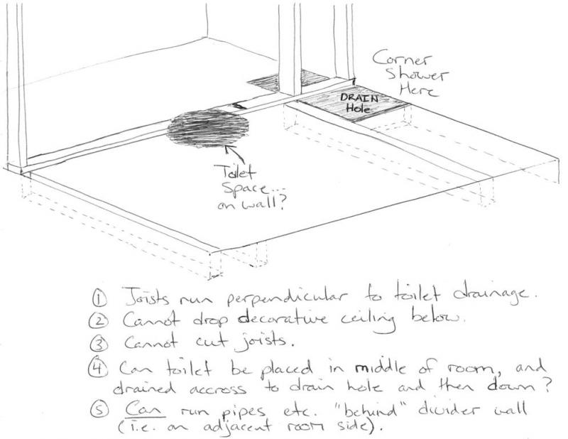 BathroomLayout jpg. Can I plumb a toilet like this  What toilet    Terry Love Plumbing