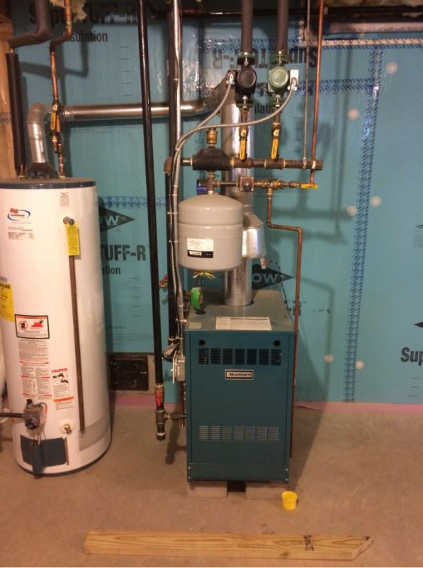 Adding basement zone to hydronic boiler / enclosing boiler | Terry ...
