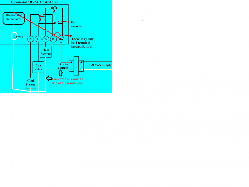 heat only thermostat wiring diagram installing programmable thermostat terry love plumbing advice  installing programmable thermostat