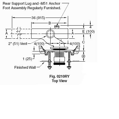 Is A Wall Mount Toilet Vented The Same As A Floor Mount Toilet