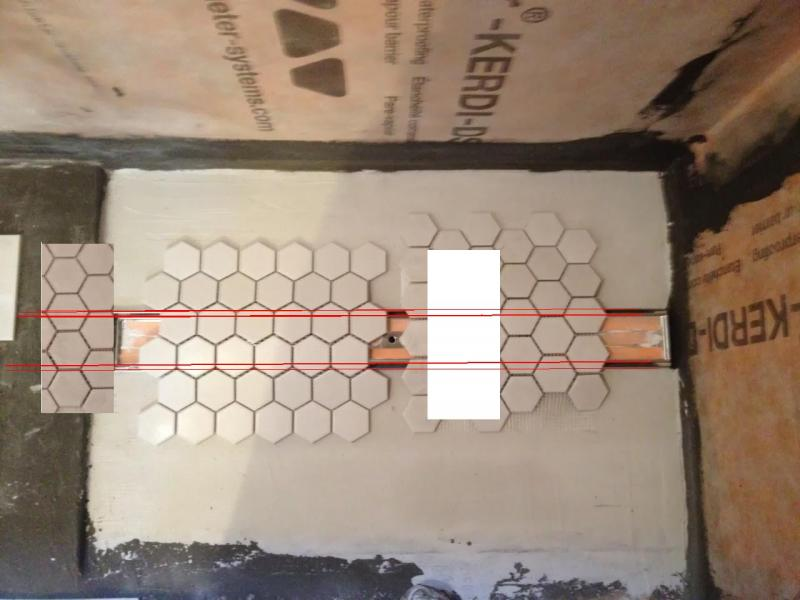 choosing your tile layout for an aco tile top drain update 1jpg