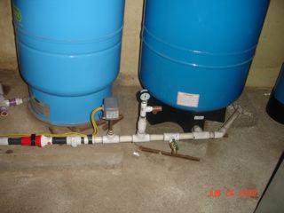 hook up pressure tank