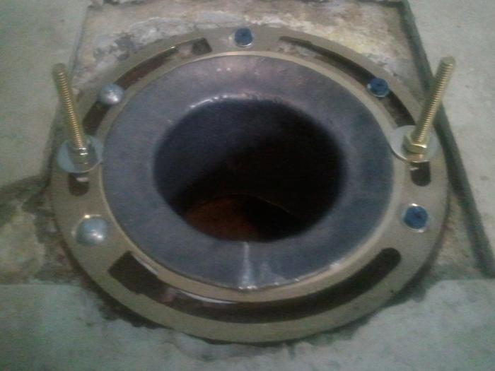 Do I have to chip out and install a new closet flange?   Terry Love ...