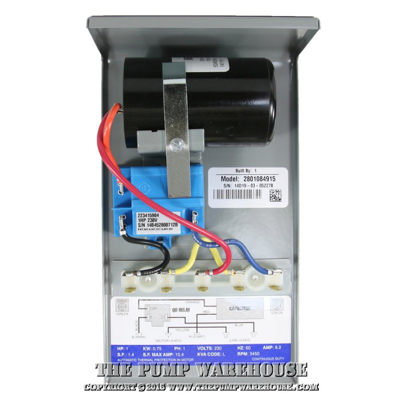 capacitor run control box worthwhile for 1 1 5 hp pumps cost rh terrylove com Franklin Electric Well Pump Capacitors Capacitor for Well Water Pump
