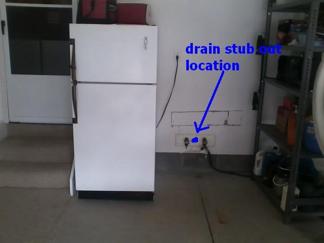 Garage Sink Area