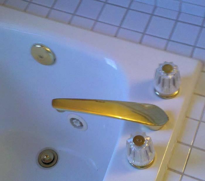 replace roman tub faucet. gold tub faucet jpg Price Pfister  Need help identifying a Roman Terry Love