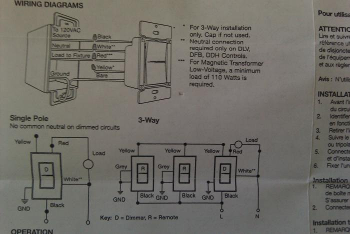 how to wire a 3 way dimmer switch diagrams wiring diagram and electrical wiring diagrams leviton 3 way dimmer diagram 3 way switch troubleshooting diy