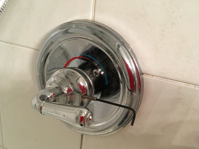 Can\'t remove Moen Monticello Shower Handle | Terry Love Plumbing ...