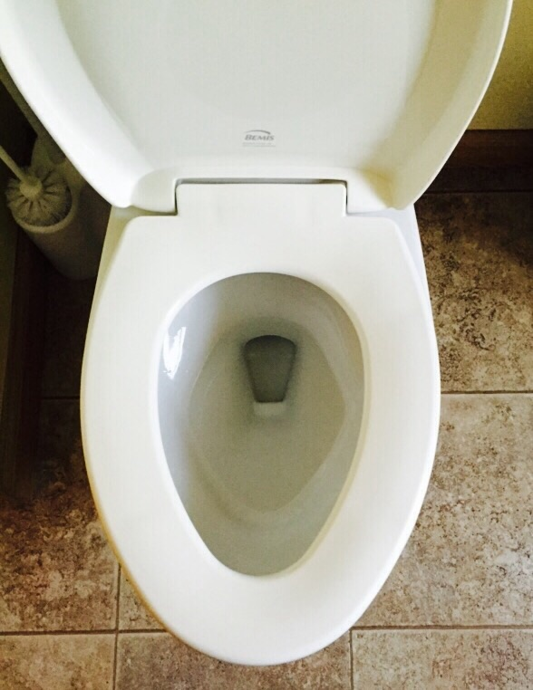 Bemis Whisper Close StaTite Toilet Seat Doesnt Cover Bowl Terry - Bemis toilet seat colors