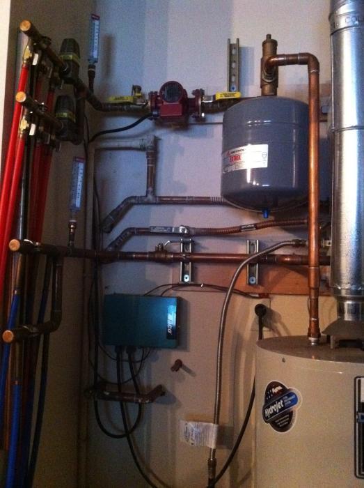 Fantastisch Hydronic Boilersystem Bilder - Elektrische ...