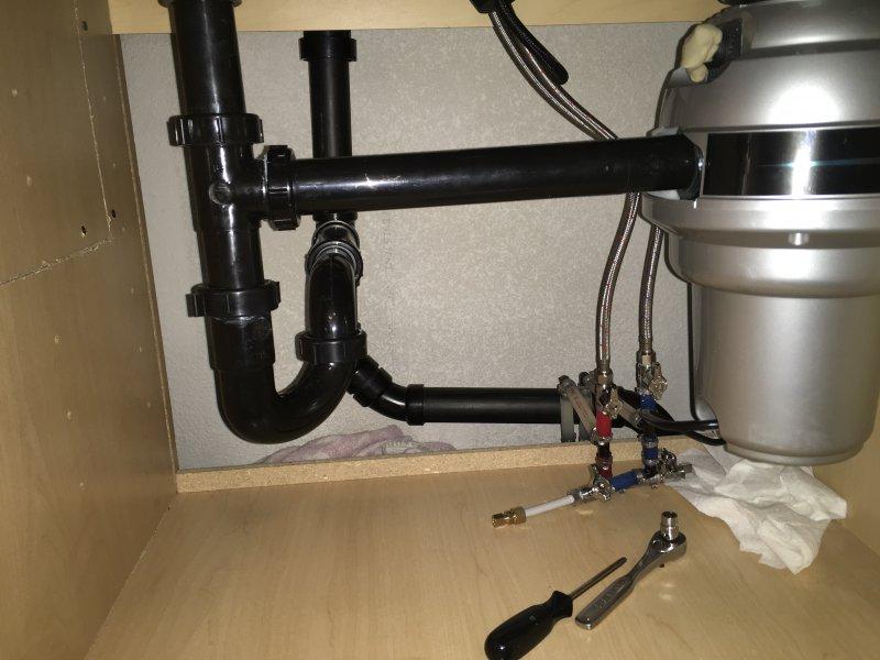 Kitchen Sinks Won 39 T Drain After Renovation Terry Love Plumbing Remodel Diy Professional Forum