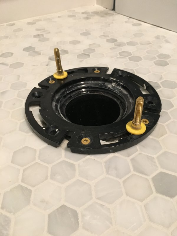 Toilet Flange Above Or Level With Floor Page 2 Terry