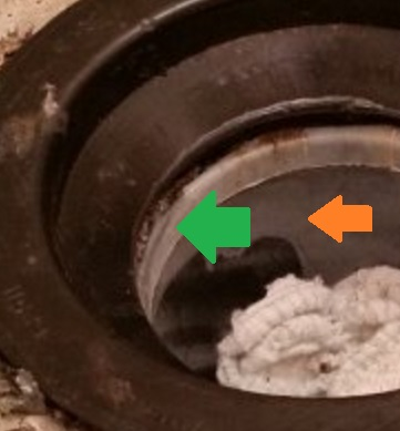 Broken flange -- best repair advice? | Terry Love Plumbing
