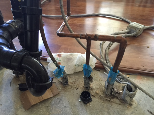 Why Do I Have 3 Water Supply Lines Plumbing Forum Professional DIY
