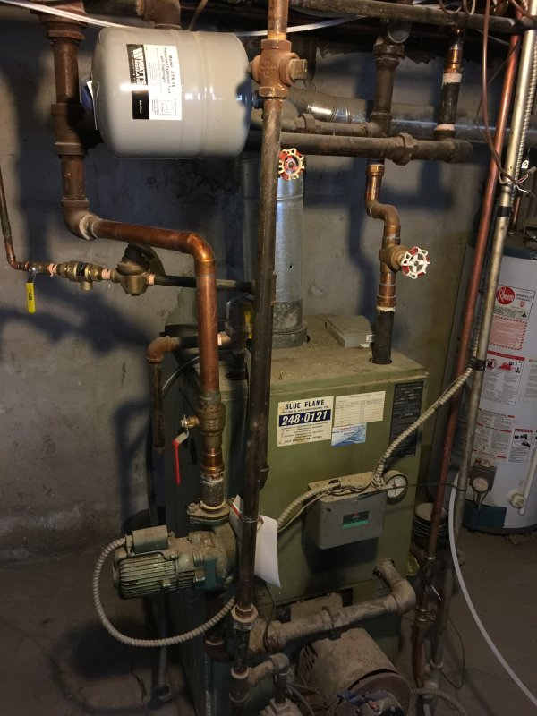 Zoning of old radiator heating system   Terry Love Plumbing ...