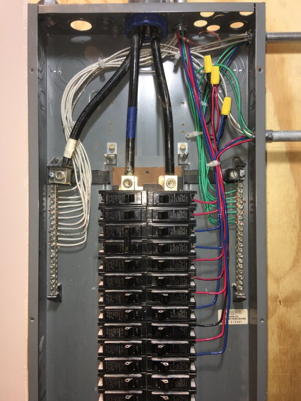 house panel wiring electrical panel- no ground | terry love plumbing ... house hold wiring a plug