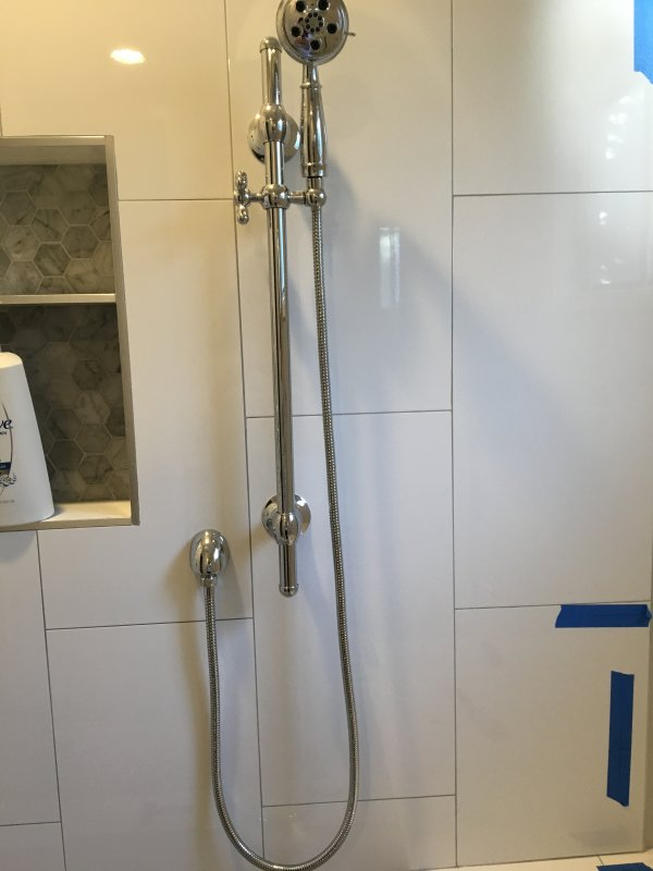 Delta shower system not diverting to handheld | Terry Love Plumbing ...