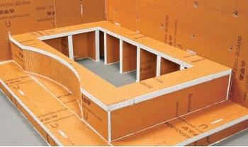 Kerdiboard Tub Deck