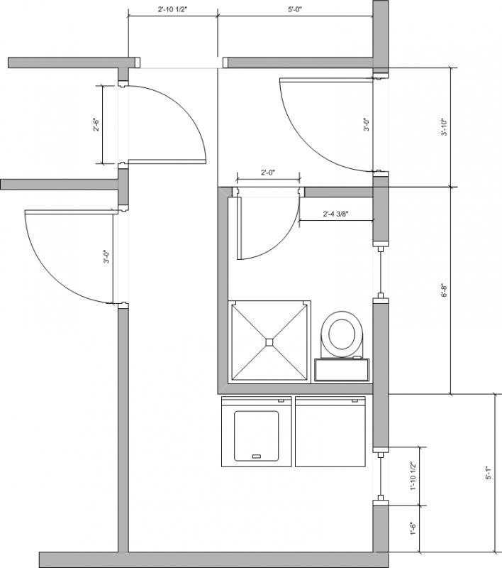 Tiny Laundry Room Useless Bathroom Need Suggestions