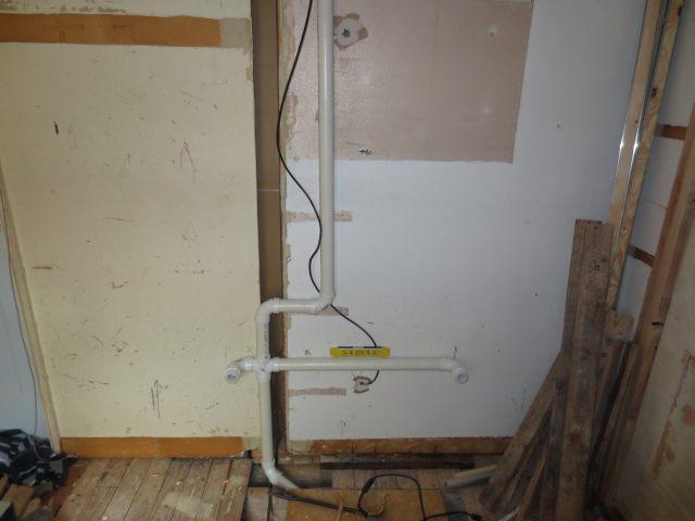 Double sink rough in. . . | Terry Love Plumbing & Remodel DIY ...
