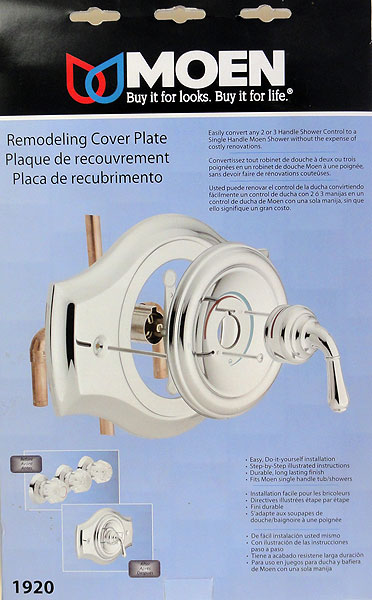 Bathroom Faucet Plate replacing an old 3 handle tub shower faucet | terry love plumbing
