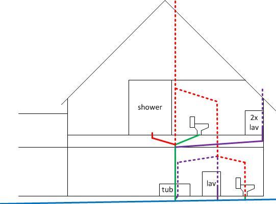 New Side Jpg. Adding A Second Floor Bathroom   Gurus Floor