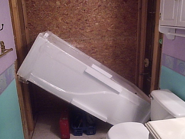 Placing tub in 3 wall alcove | Terry Love Plumbing & Remodel DIY ...