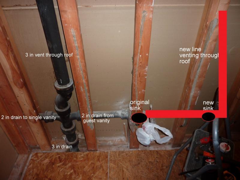 Double Vanity Plumbing Options Terry Love Plumbing Remodel Diy