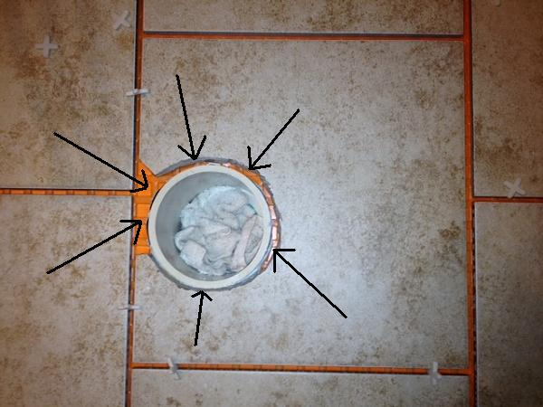 Ceramic TileWhat To Put Around Toilet Flange Terry Love Plumbing - Ceramic tile places near me