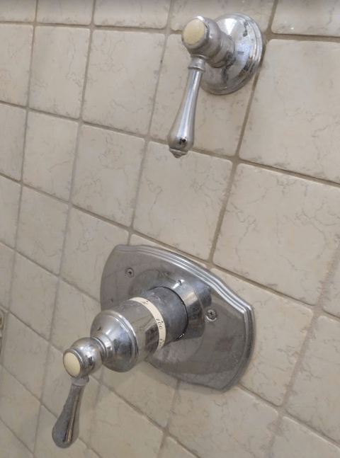 Grohe 34.122 shower valve ID   not mixing cold and hot water