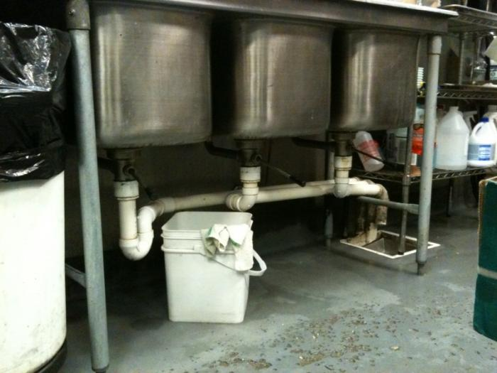 how to install a grease trap ehow how to install