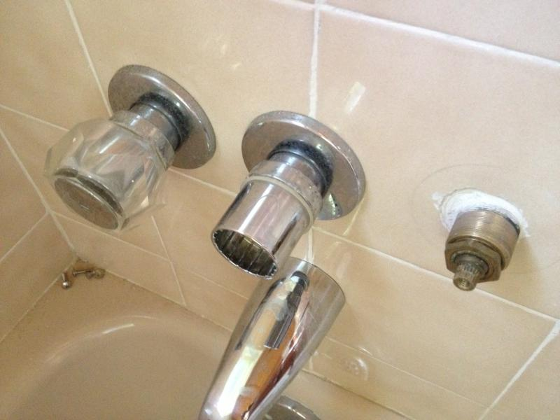 Need to Identify Brand of 3 Handle Shower Faucet, pictures attached ...
