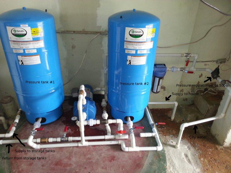 Pressure tank getting waterlogged | Terry Love Plumbing